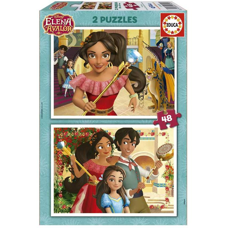 Educa puzzle 2x48 Elena de Avalor