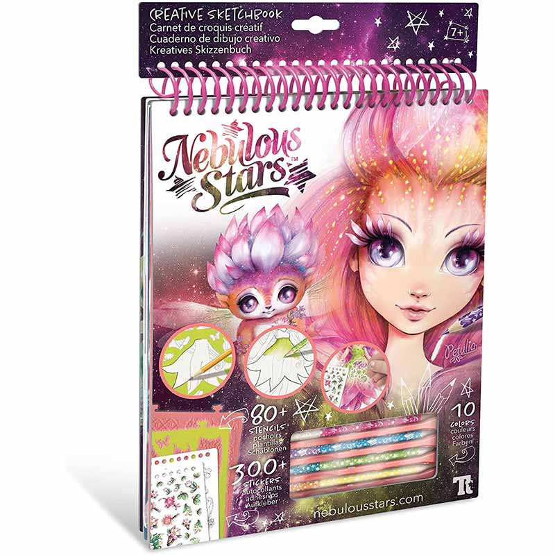 Educa Nebulous Stars cuaderno creativo Petuli