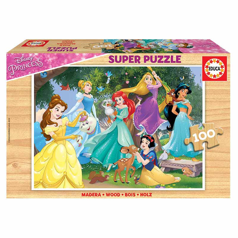 Educa puzzle 100 Princesas Disney