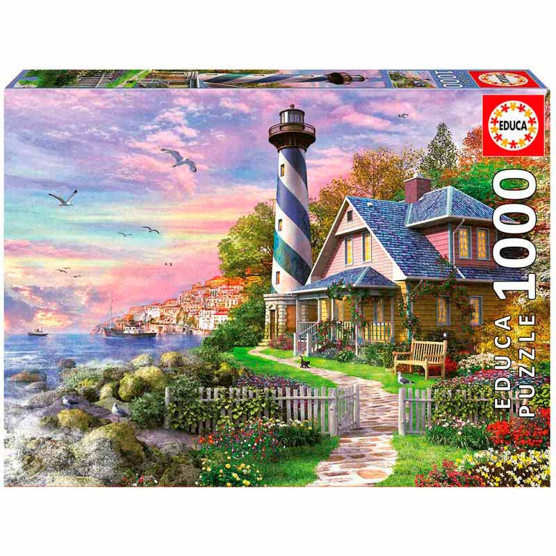 Educa puzzle 1000 faro en Rock Bay