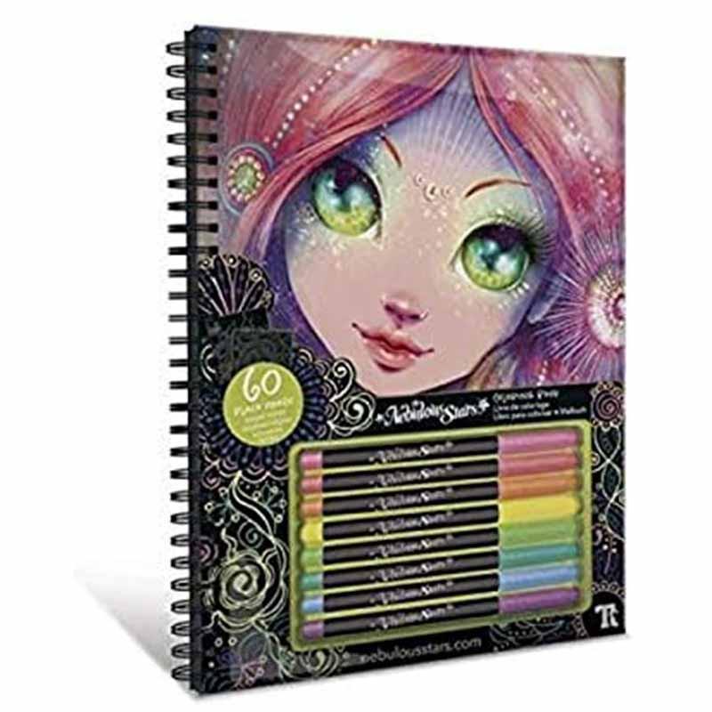 Educa Nebulous cuadernos para colorear Coralia