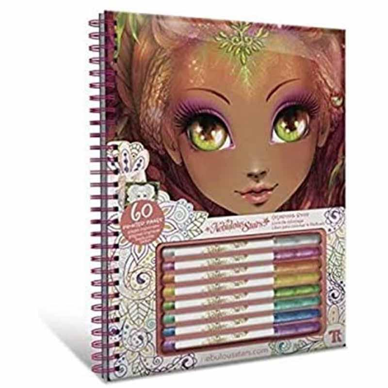 Educa Nebulous cuadernos para colorear Hazelia
