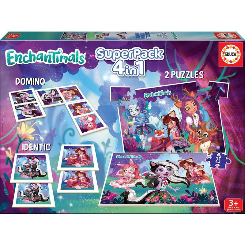 Educa Superpack Enchantimals