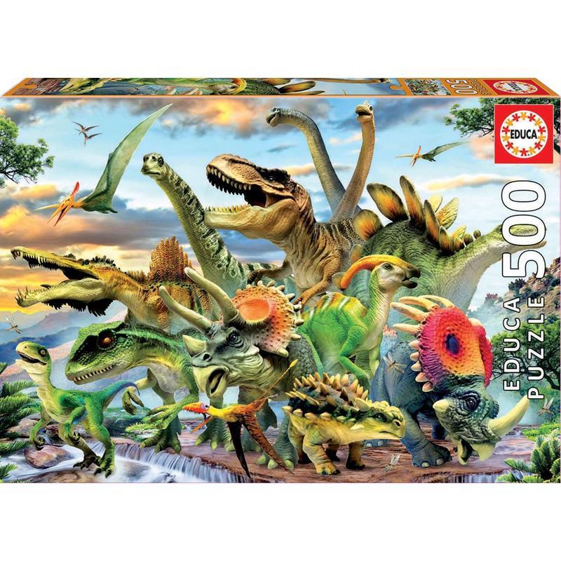 Educa puzzle 500 dinosaurios