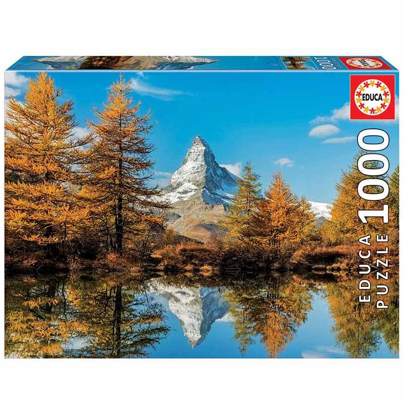 1000 Monte Cervino en otoño