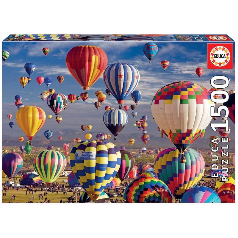 Educa puzzle 1500 globos aeroestáticos