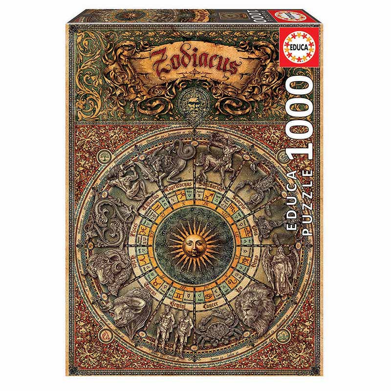 Educa puzzle 1000 zoodíaco