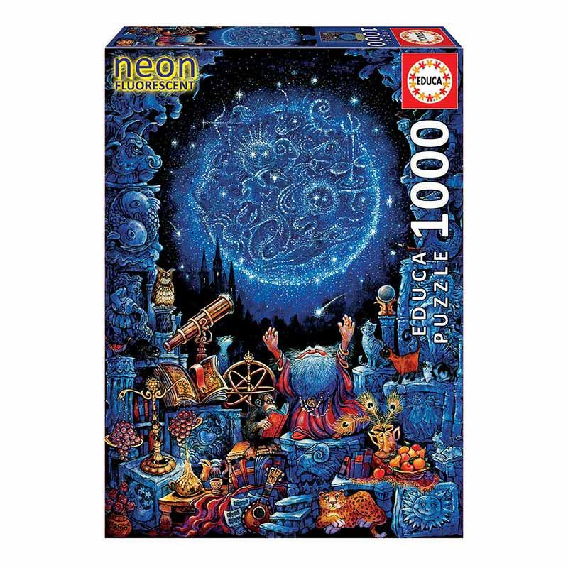 Educa puzzle 1000 el astrólogo neón