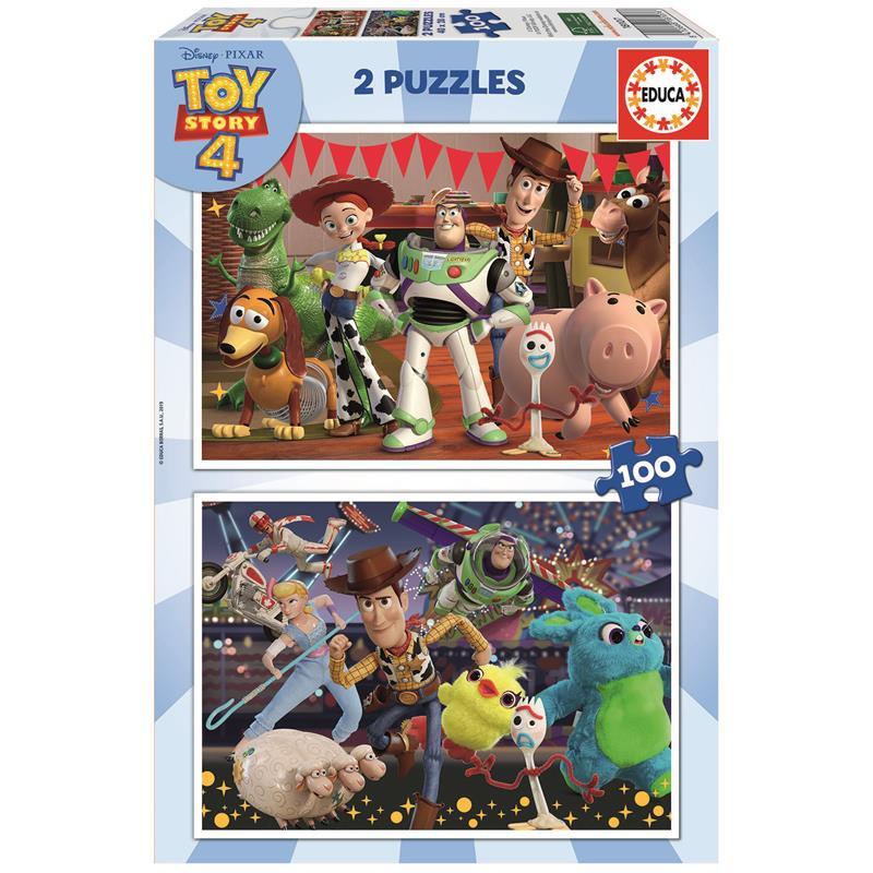 Educa Puzzle 2x100 Toy Story 4