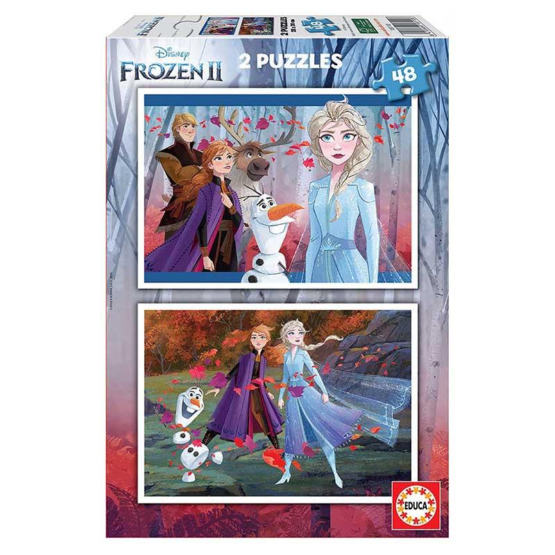 Educa Puzzle 2x48 Frozen II