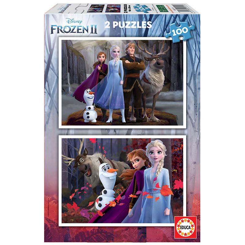 Educa puzzle 2x100 Frozen II