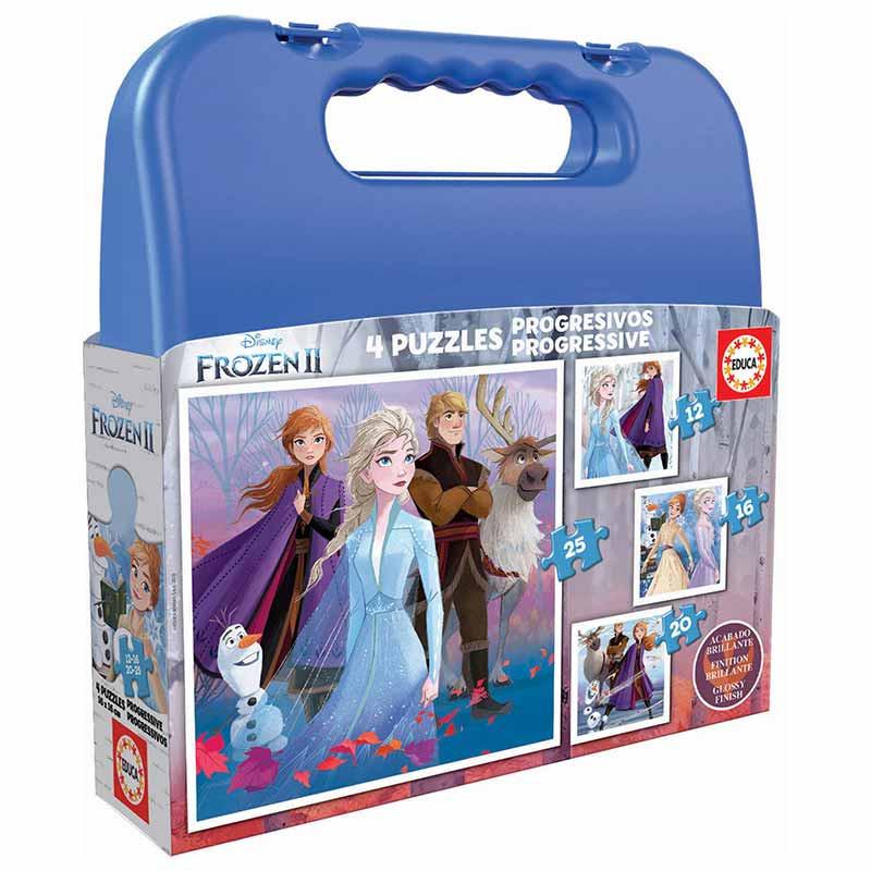 Educa puzzle maleta progresivo Frozen II