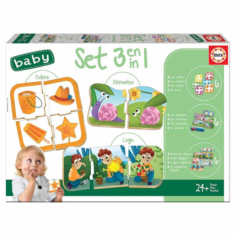 Educa Baby set baby 3 en 1