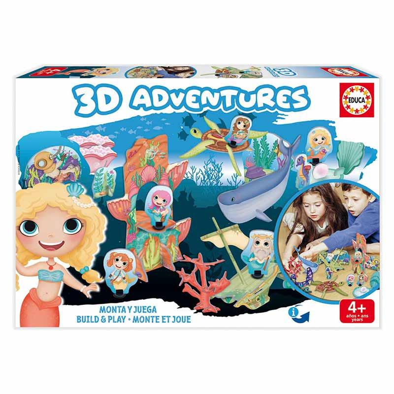 Educa 3D adventures sirenas