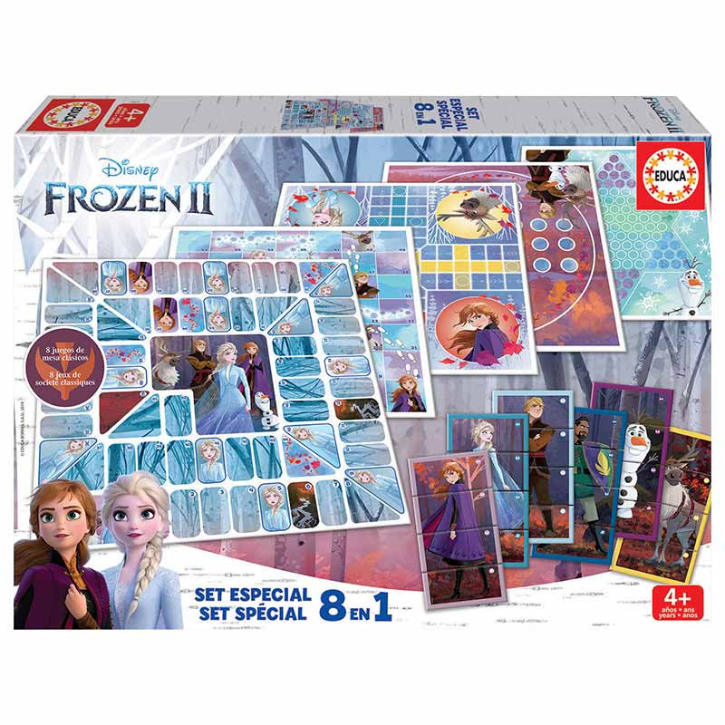 Educa 8 en 1 Frozen