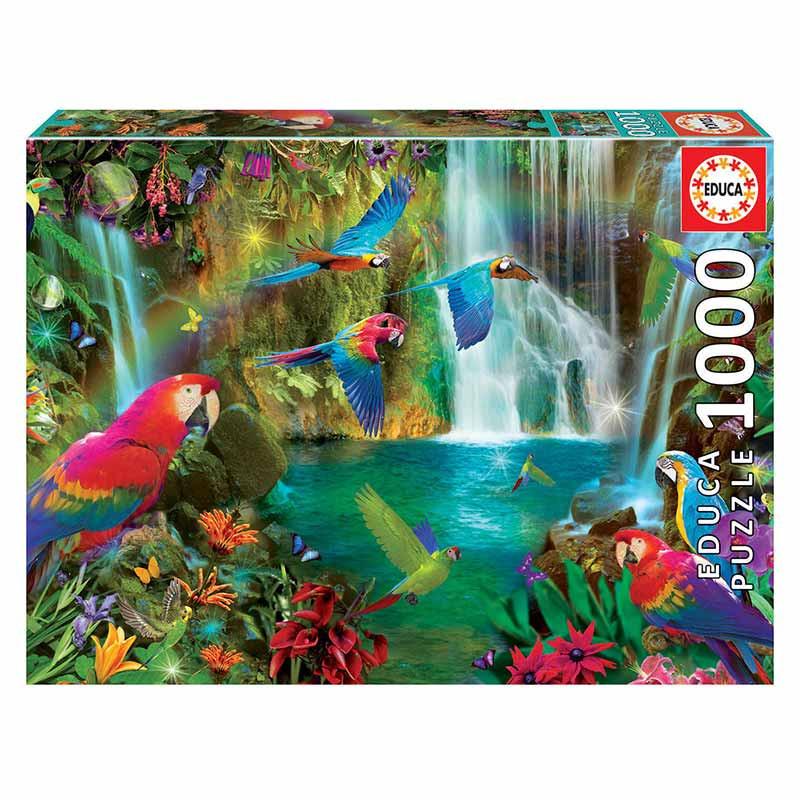 Educa puzzle 1000 loros tropicales