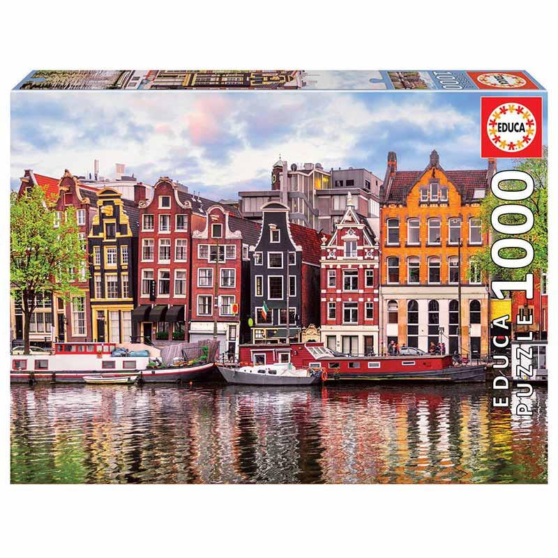Educa puzzle 1000 casas danzantes Amsterdam