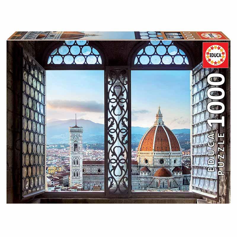 Educa puzzle 1000 vistas de Florencia