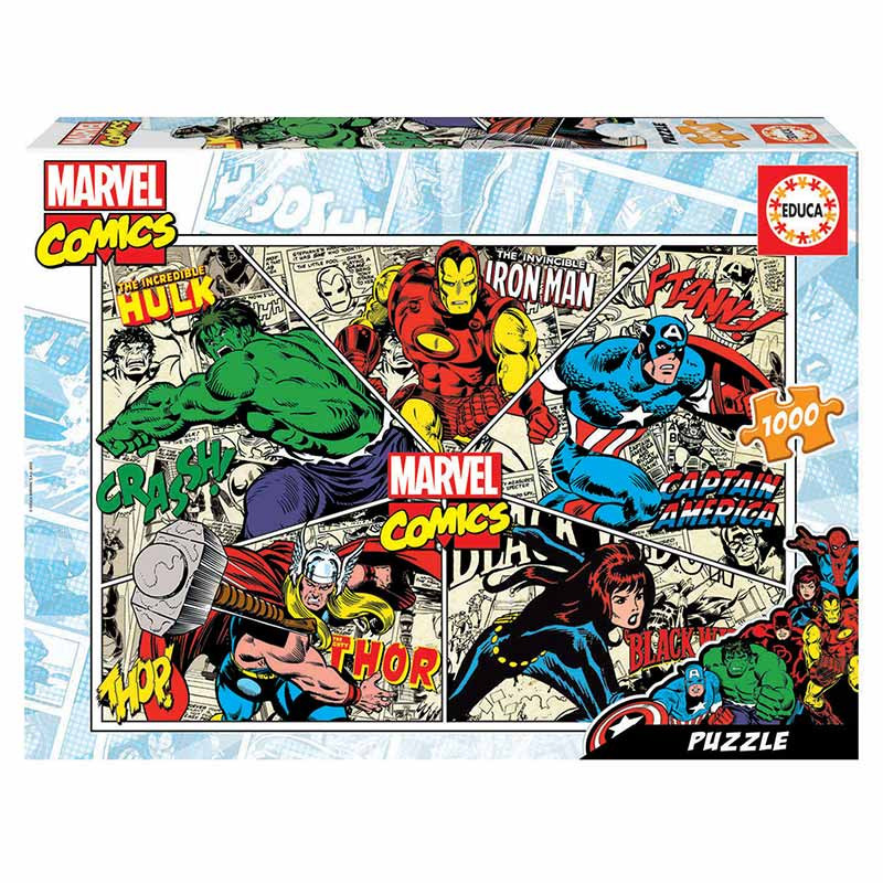 Educa puzzle 1000 Marvel comics
