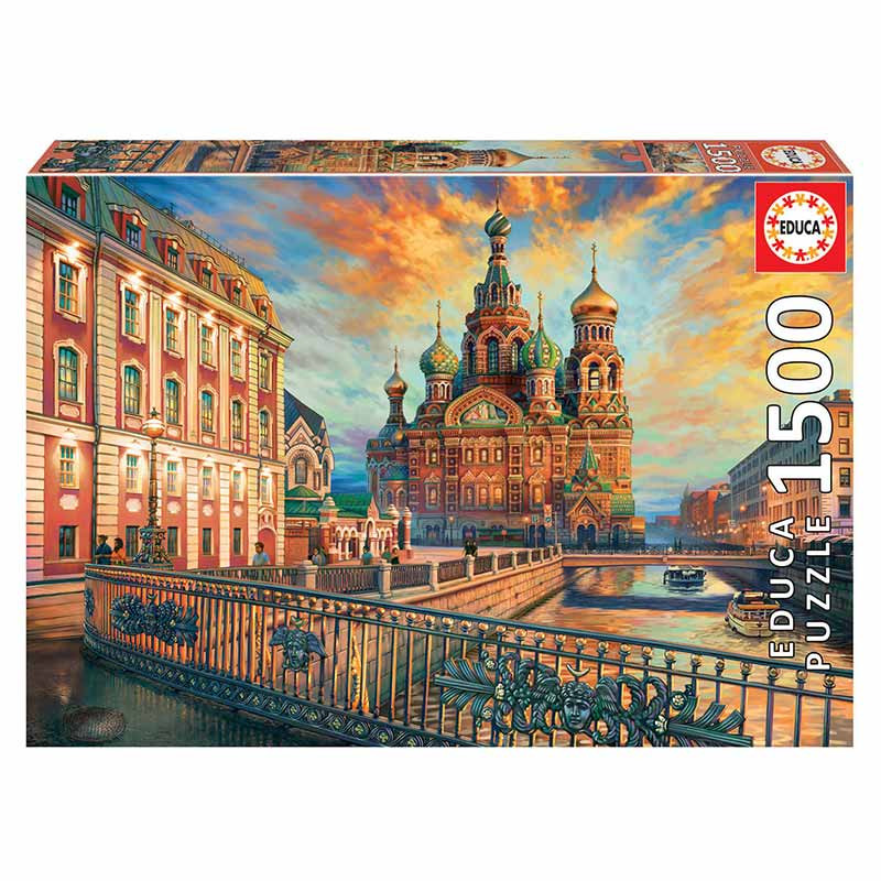 Educa puzzle 1500 San Petersburgo
