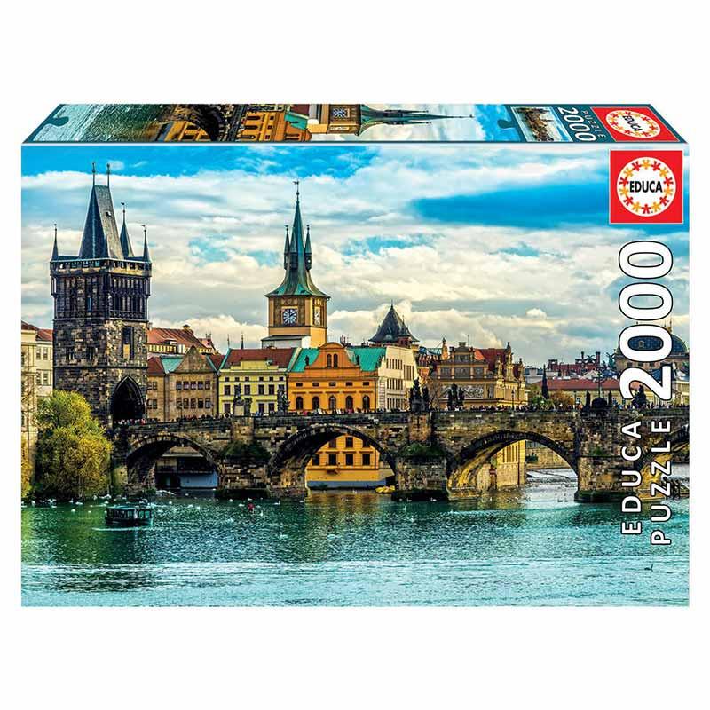 Educa puzzle 2000 vistas de Praga
