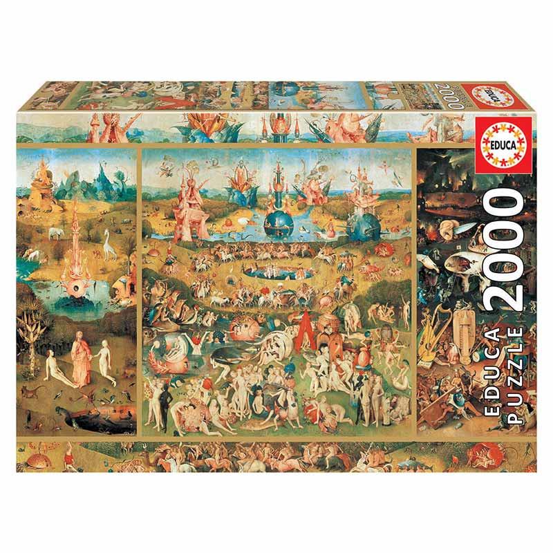 Educa puzzle 2000 el jardín de las delicias