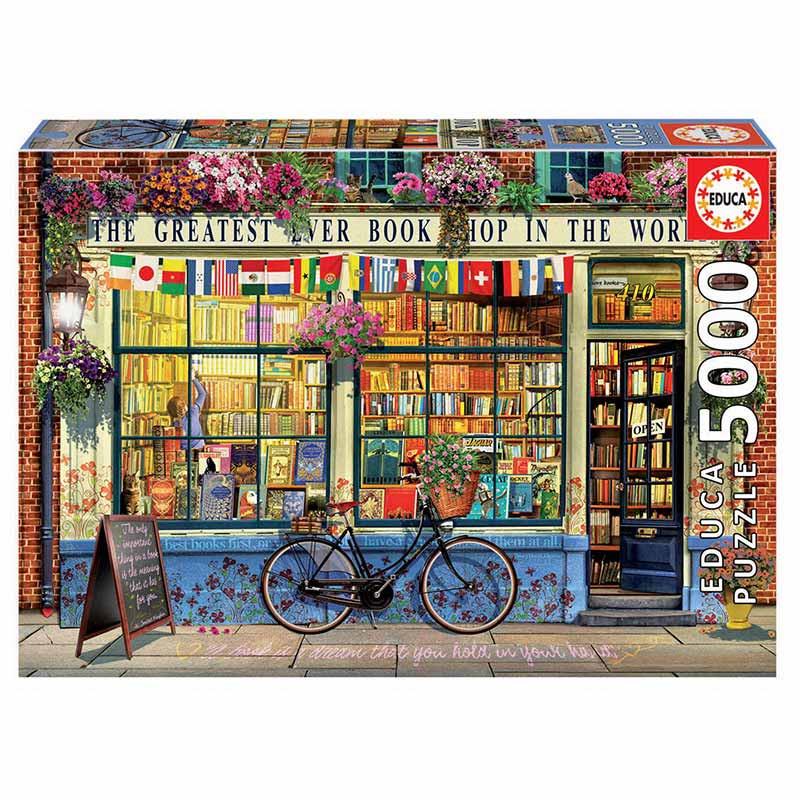 Educa puzzle 5000 la mejor librería del mundo