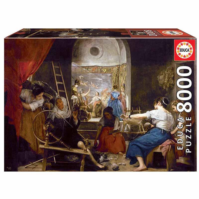 8000 Las hilanderas o La fábula de Aracne, Diego V