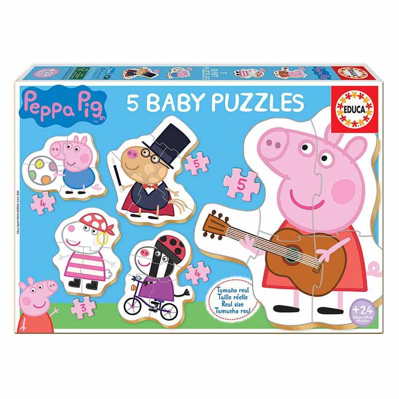 Educa Baby puzzles Peppa Pig