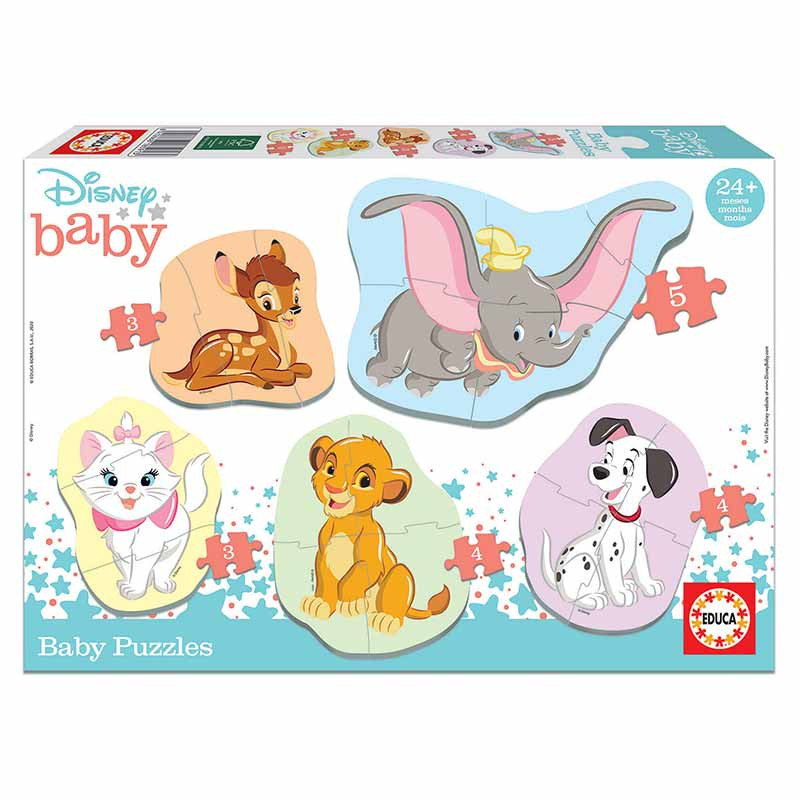 Educa Baby puzzle Disney animals