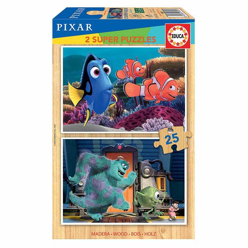Educa madeira 2x25 Disney Pixar