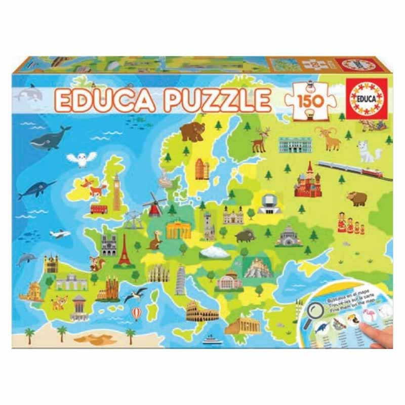 Educa puzzle 150 mapa de Europa