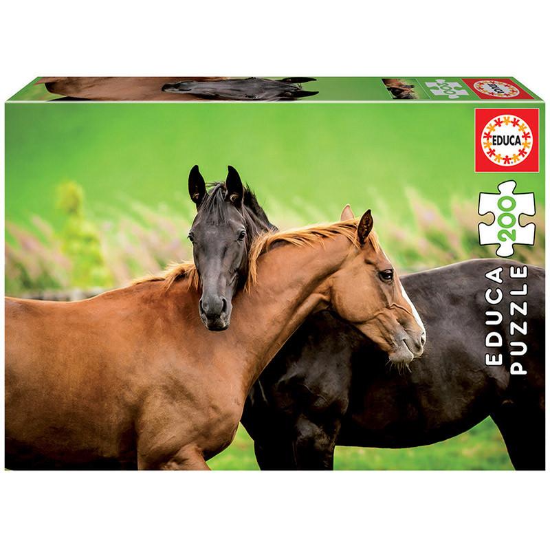 Educa puzzle 200 caballos