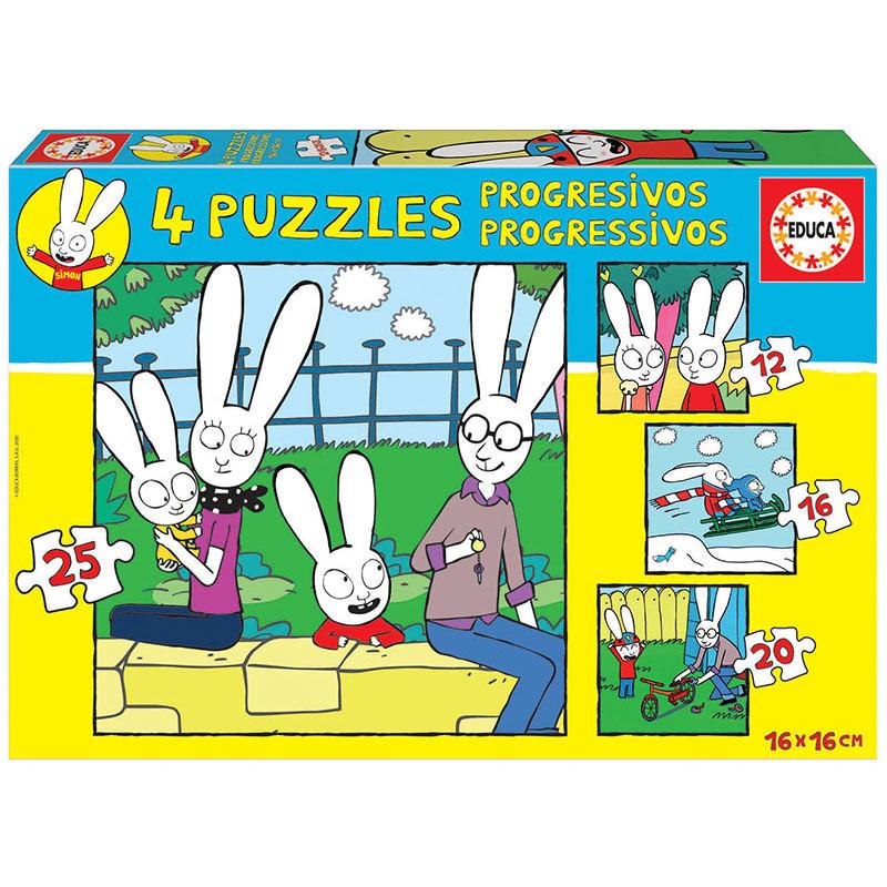 Educa puzzle progresivo Simon