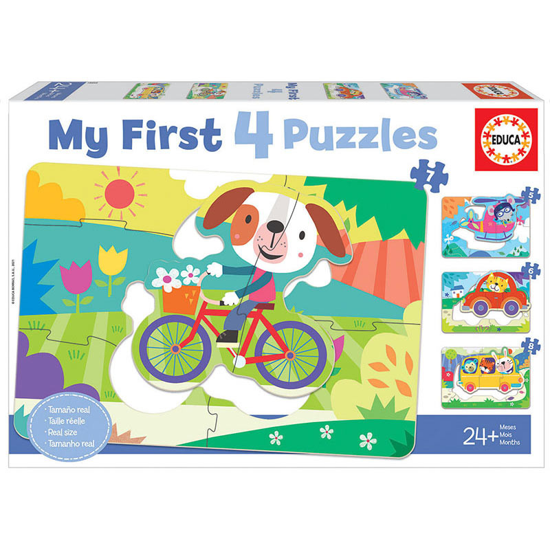 Vehículos My First Puzzle