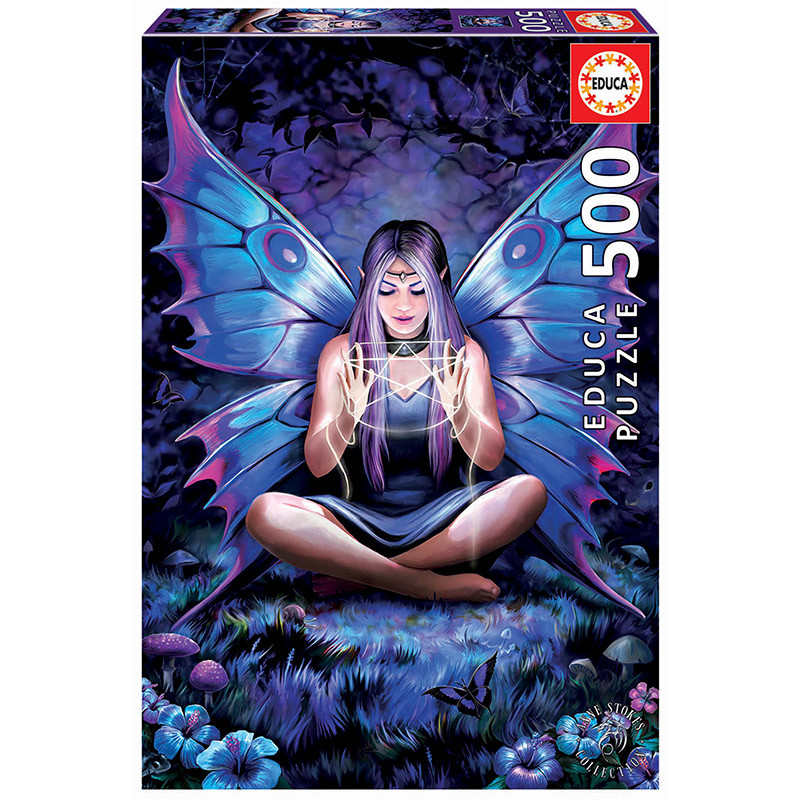Educa puzzle 500 tejedora de hechizos Anne Stokes