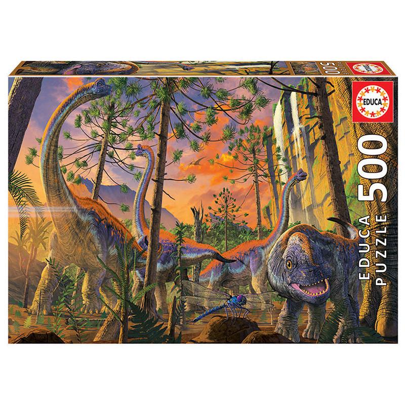 Educa puzzle 500 curiouso Vincent Hie