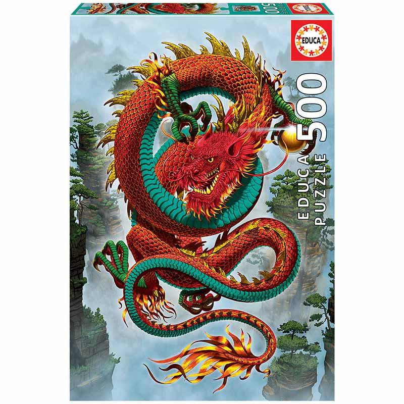 Educa puzzle 500 dragón de la buena fortuna