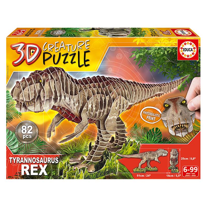 Educa T-REX 3D creature puzzle