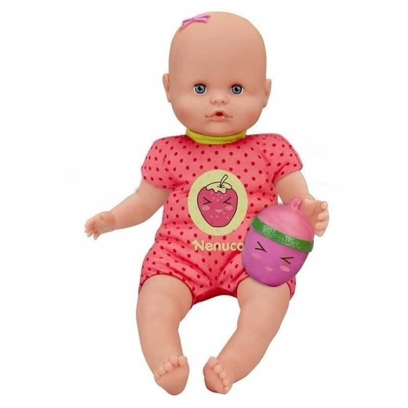 Nenuco con biberón sonajero rosa