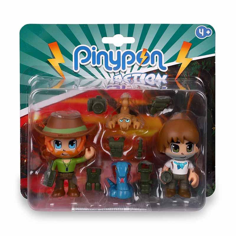 Pinypon Action Wild de figuras y animales