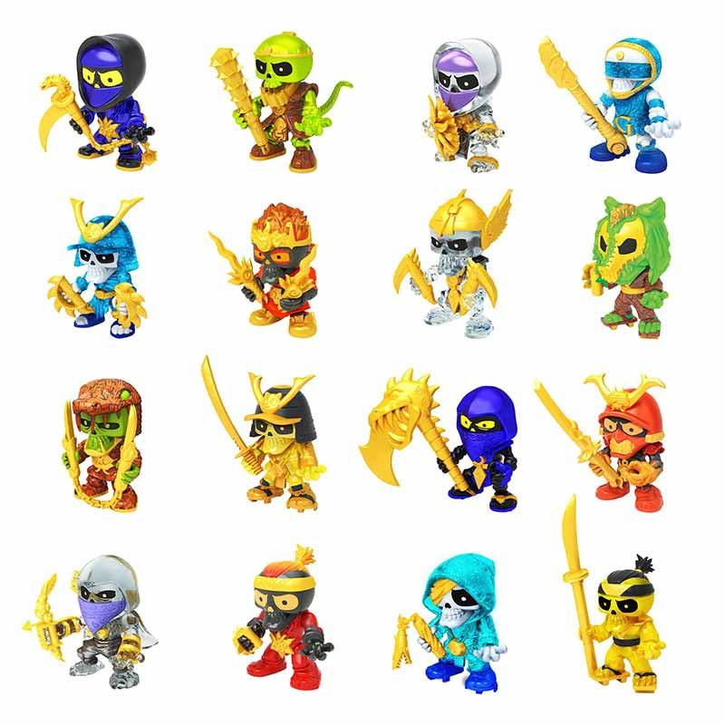Treasure X S6 figuras ninja