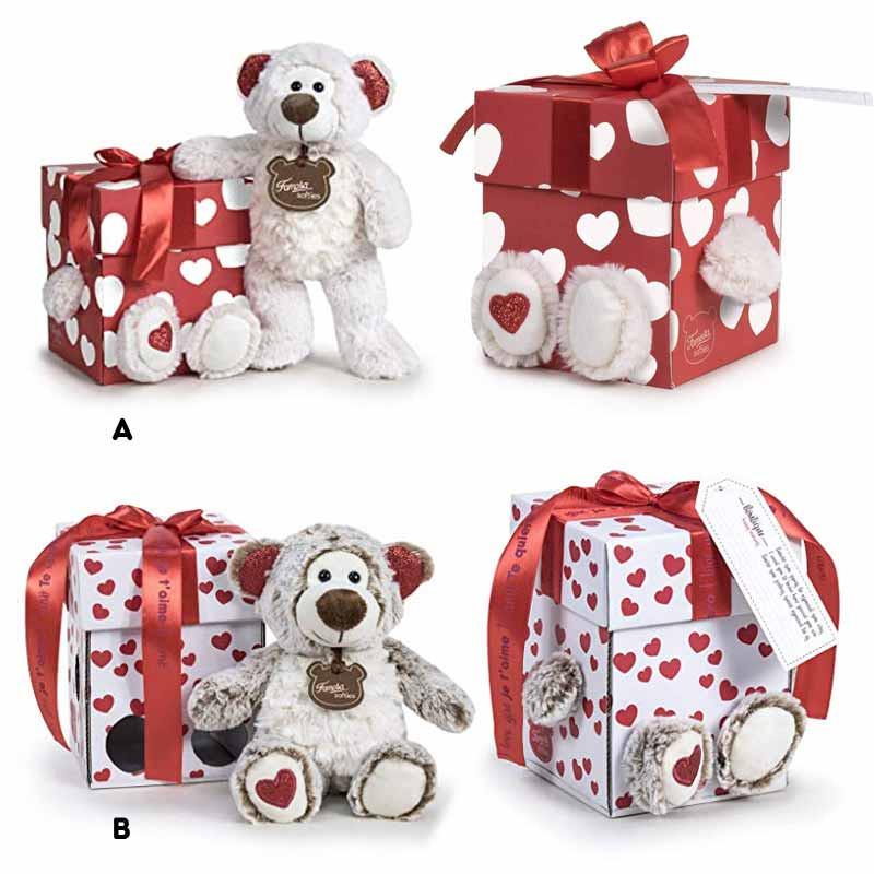 Cajita Happy Valentín con osito