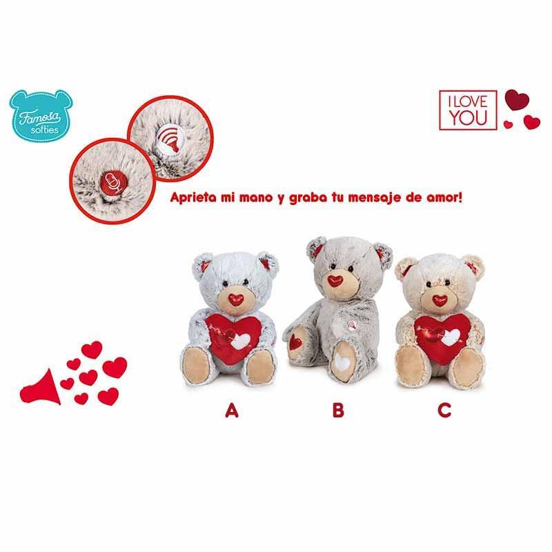 Quirón Love Message Teddy