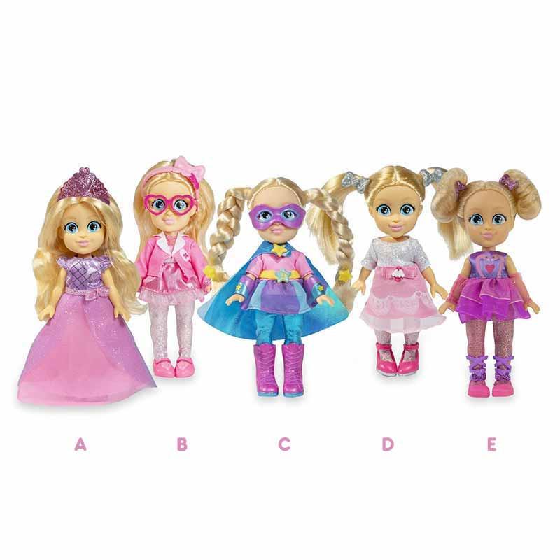 Love Diana  mini dolls 15 cm