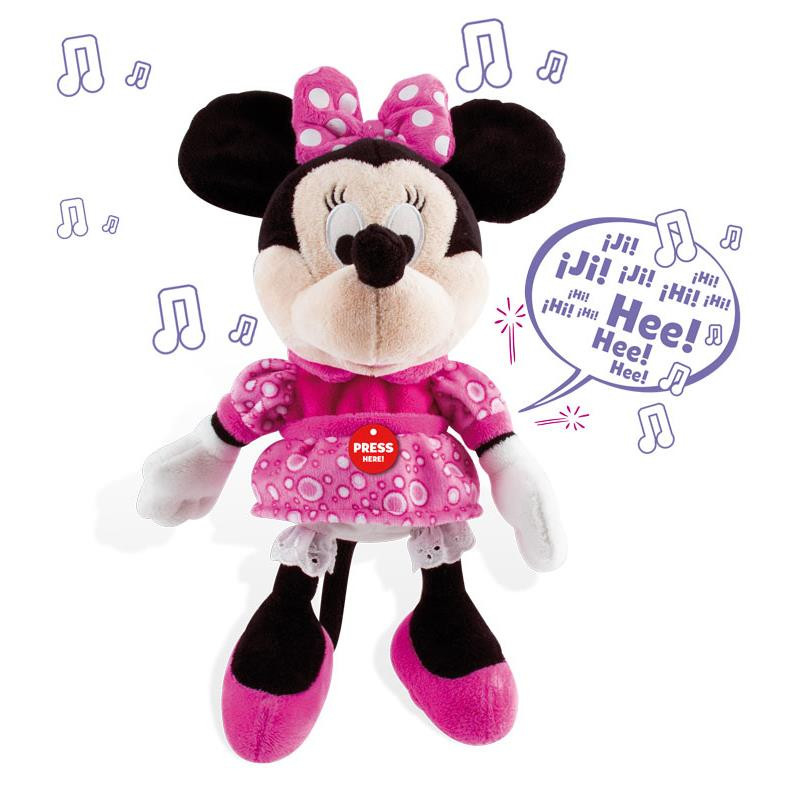 Peluche interactivo happy sounds Minnie