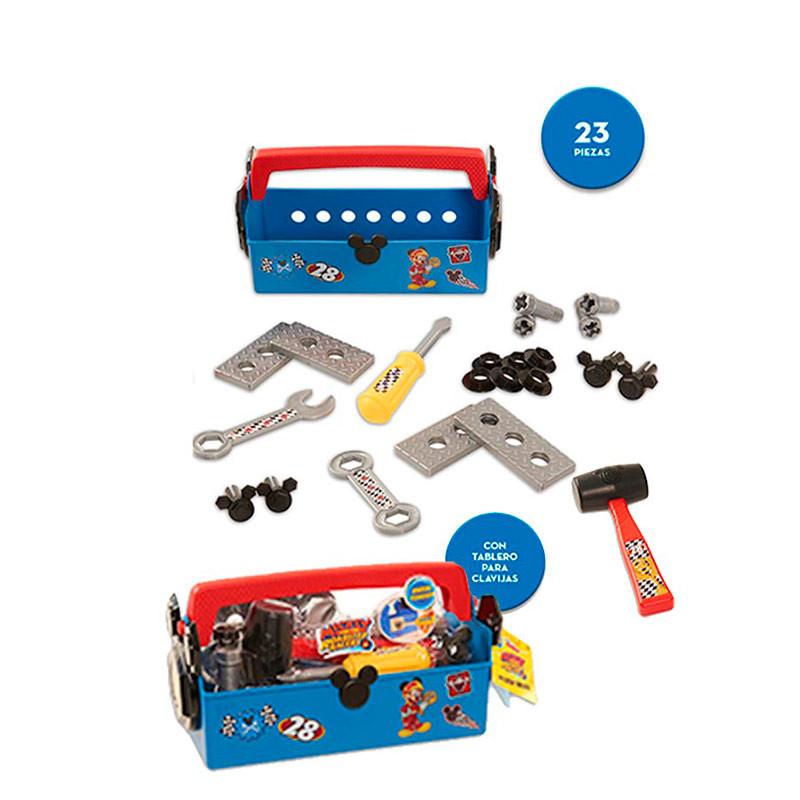 Caja herramientas mickey y los superpilotos