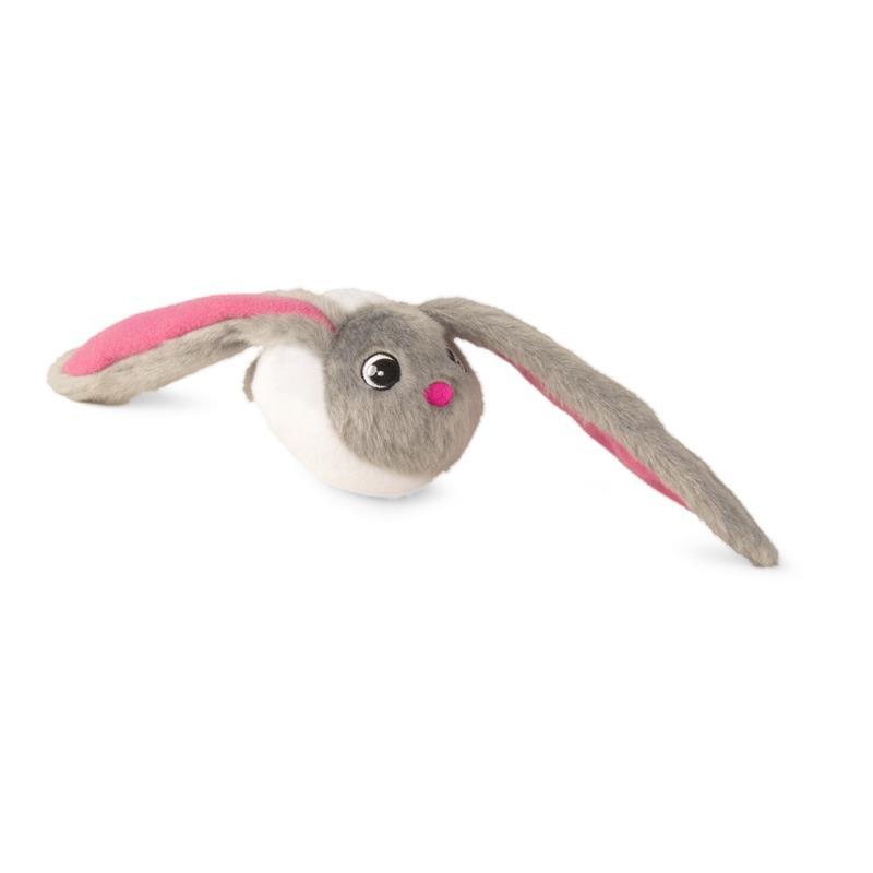 Bunnies blanco con orejas grises