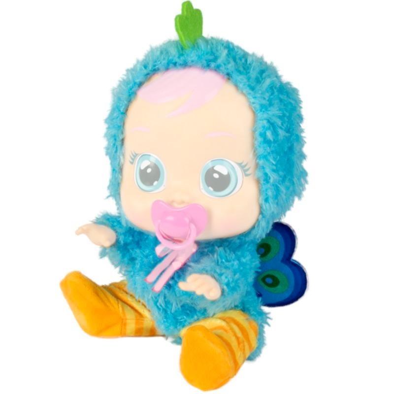 Bebés llorones pijama pavo real
