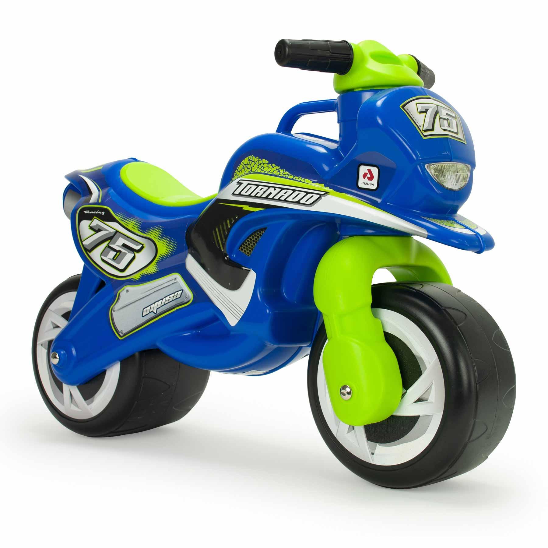 Moto Correpasillos Tundra Tornado Color Azul